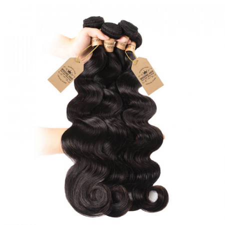 8A Peruvian Body Wave Weave Products 4 Bundles Human Hair