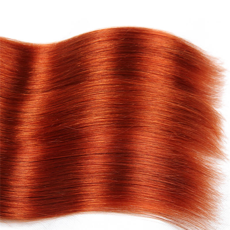 1b350 Color Ombre Hair Straight Bundles Human Virgin Hair Weave
