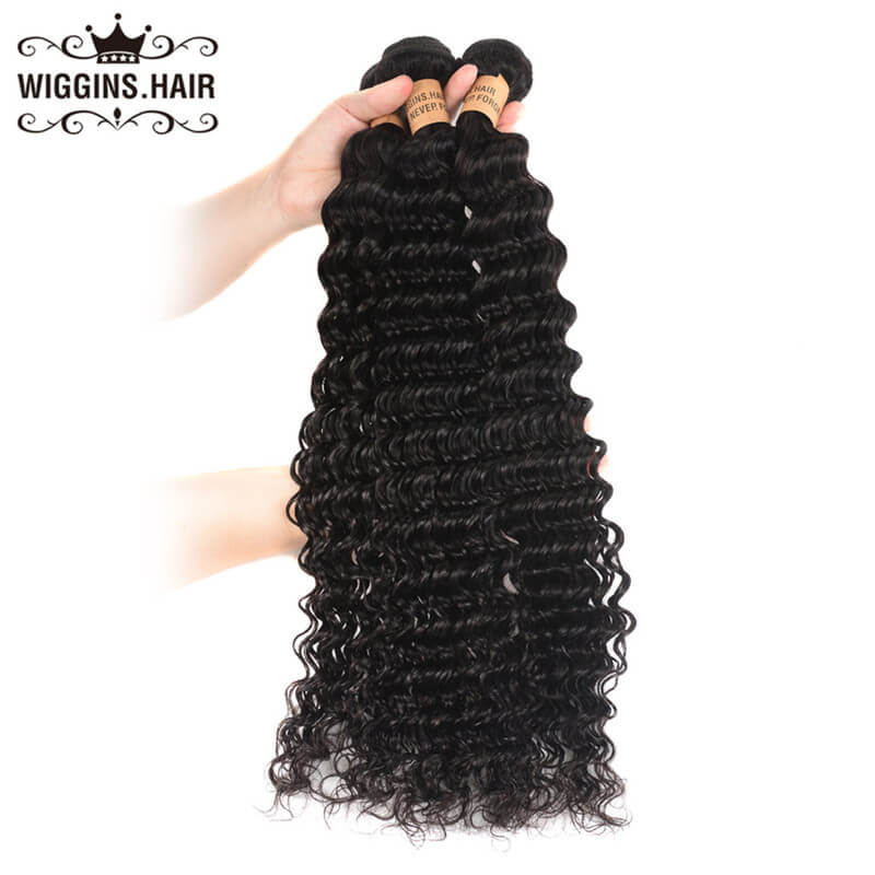 Wiggins Hair 7a Unprocessed Virgin Brazilian Deep Wave Hair 3