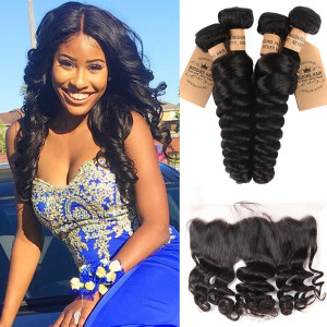 Brazilian Loose Wave 4 Bundles
