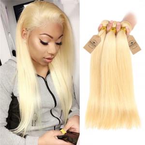 Straight Human Hair 3 Bundles
