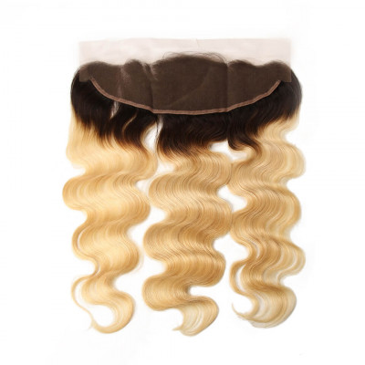 1B/613 Body Lace Frontal Body Wave 13x4 Lace Frontal With Baby Hair
