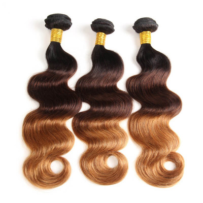 1B/4/30 Ombre Color Hair Weave 3pcs Body Wave High Quality Virgin Hair