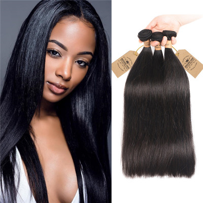 Peruvian Grade 8A High Quality Human Hair Straight Hair Bundles