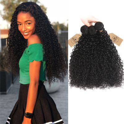 Real Brazilian Hair Bundles Curly Weave 3pcs Human Hair Virgin Hair
