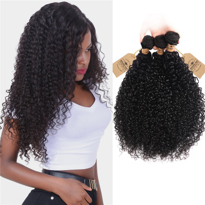 Malaysian Curly Hair 3 Bundles Top Selling Grade 8A High Quality