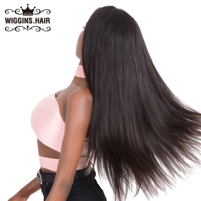High Quality 180% Density Straight Lace Front Wigs Brazilian Virgin Hair