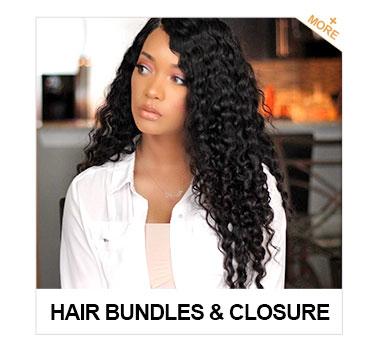 hair bundles & closure